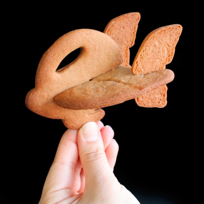 3D Space Buggy Cookie Cutter