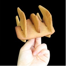 3D Star Fighter Cookie Cutter