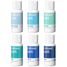 Colour Mill Oil Based Colouring 20ml Blue Pack