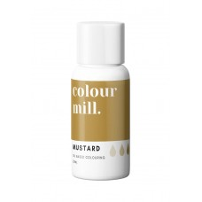 Colour Mill Oil Based Colouring 20ml Mustard
