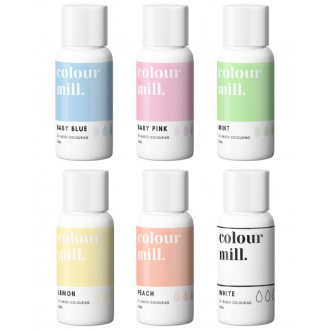 Colour Mill Oil Based Colouring 20ml Pastel Pack