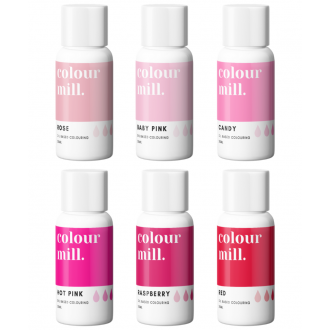 Colour Mill Oil Based Colouring 20ml Pink Pack