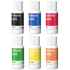 Colour Mill Oil Based Colouring 20ml Primary Pack