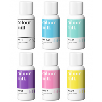 Colour Mill Oil Based Colouring 20ml Rainbow Pack