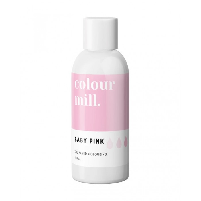 Colour Mill Oil Based Colouring 100ml Baby Pink