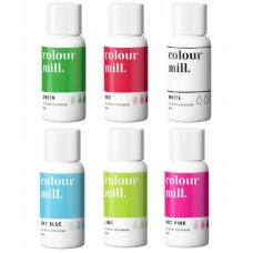 Colour Mill Oil Based Colouring 20ml CindyLou Pack
