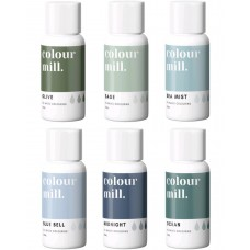 Colour Mill Oil Based Colouring 20ml Coastal Pack