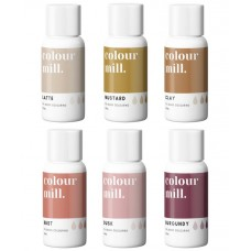 Colour Mill Oil Based Colouring 20ml Desert Pack (Pre-Order Shipping in June)