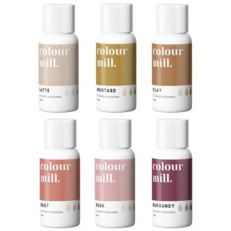 Colour Mill Oil Based Colouring 20ml Desert Pack