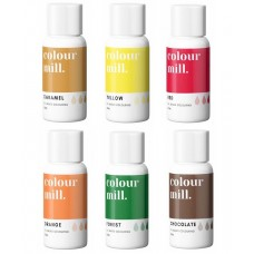 Colour Mill Oil Based Colouring 20ml Harvest Pack