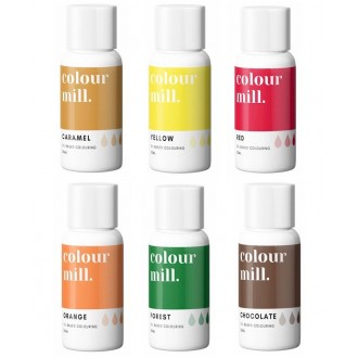 Colour Mill Oil Based Colouring 20ml Harvest Pack