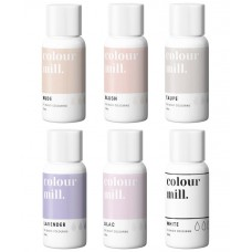 Colour Mill Oil Based Colouring 20ml Nude Pack