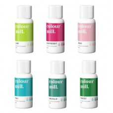 Colour Mill Oil Based Colouring 20ml Tropical Pack