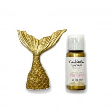 Edible Art Decorative Paint 15ml - Metallic Antique Gold  (In Collaboration with Magnolia Kitchen)