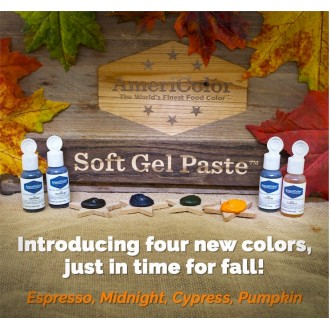 Espresso Soft Gel Paste from Americolor