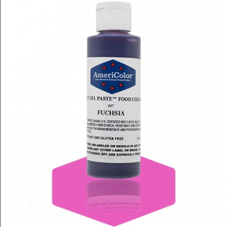 Fuchsia Soft Gel Paste from Americolor 4.5 oz