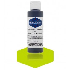 Electric Green Soft Gel Paste from Americolor 4.5oz