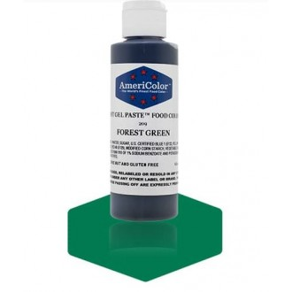 Forest Green Soft Gel Paste from Americolor 4.5 oz
