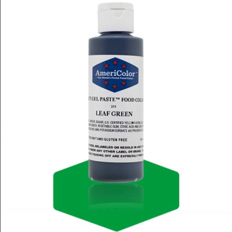 Leaf Green Soft Gel Paste from Americolor 4.5 oz