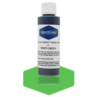 Mint Green Soft Gel Paste from Americolor 4.5oz