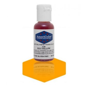 Egg Yellow Soft Gel Paste from Americolor