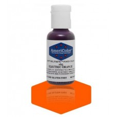 Electric Orange Soft Gel Paste from Americolor