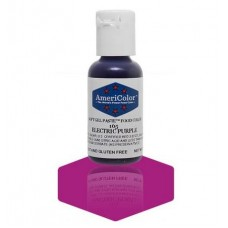 Electric Purple Soft Gel Paste from Americolor