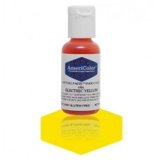 Electric Yellow Soft Gel Paste from Americolor