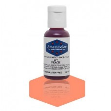 Peach Soft Gel Paste from Americolor