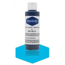 Sky Blue Soft Gel Paste from Americolor 4.5 oz
