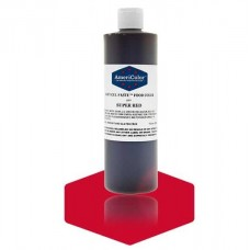 Red Super Red Gel Paste from Americolor 13.5 oz