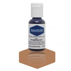 Warm Brown Soft Gel Paste from Americolor