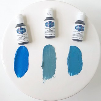 Navy Blue Soft Gel Paste from Americolor