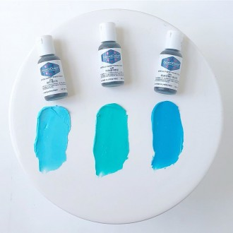Turquoise Soft Gel Paste from Americolor