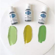 Avocado Green Soft Gel Paste from Americolor