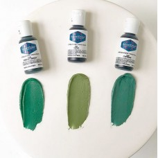 Forest Green Soft Gel Paste from Americolor