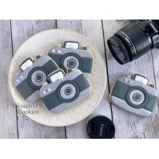 Camera Cookie Cutter from Flour Box Bakery