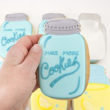 Mason Jar Cookie Cutter 3 1/2""