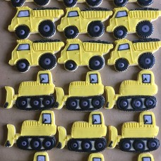 Bulldozer Cookie Cutter 4 1/4""