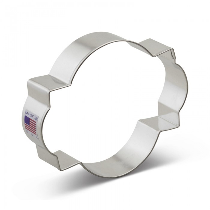 Plaque Cookie Cutter Photo 4''