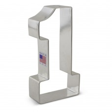 Number 1 - College NO 1 Cookie Cutter 4 3/8""