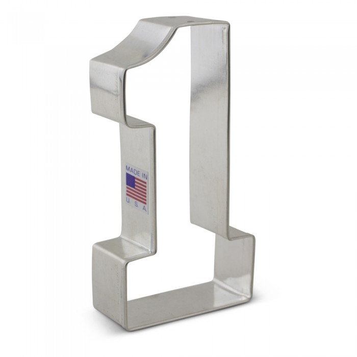 """Number 1 - College NO 1 Cookie Cutter 4 3/8"""""""