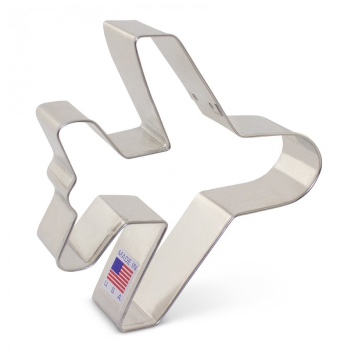 Airplane Cookie Cutter 4 1/8""