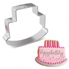 """Cake Cookie Cutter by Flour Box Bakery, 4"""""""