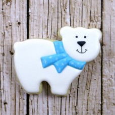 Cute Polar Bear Cookie Cutter