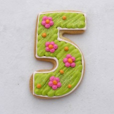Number 5 Cookie Cutter 3 1/2""