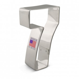 """Number 7 Cookie Cutter 3 1/2"""""""