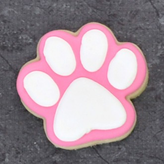 Dog Paw Print Cookie Cutter 3 3/8""