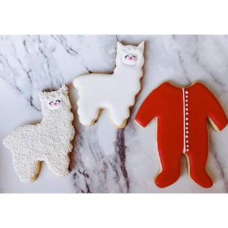 Cute Llama / Alpaca Cookie Cutter 4''