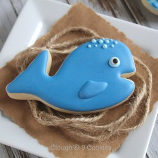 Whale Cookie Cutter 3 7/8""
